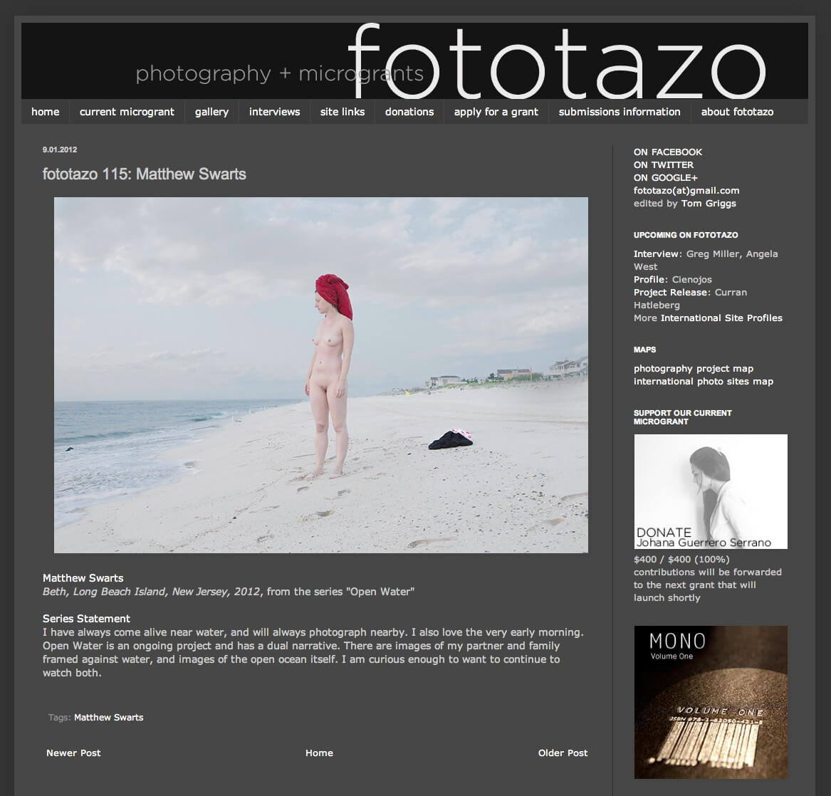 Matthew Swarts + Fototazo