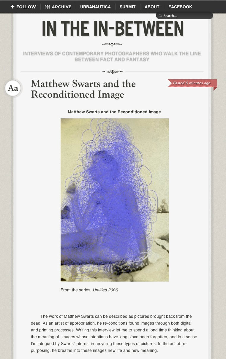 Matthew Swarts  + In The In-Between