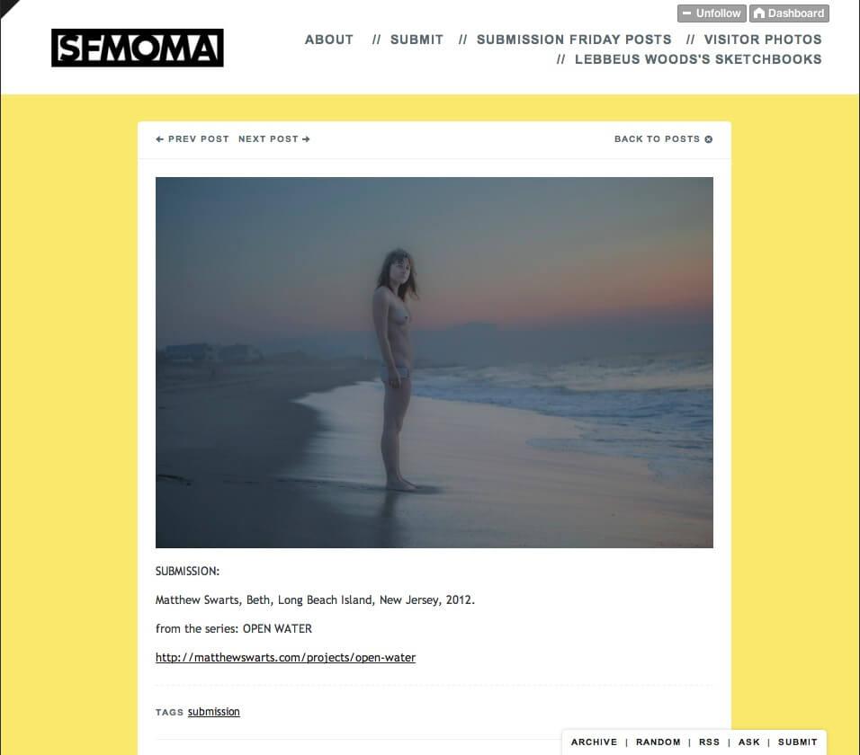 Matthew Swarts + SFMOMA