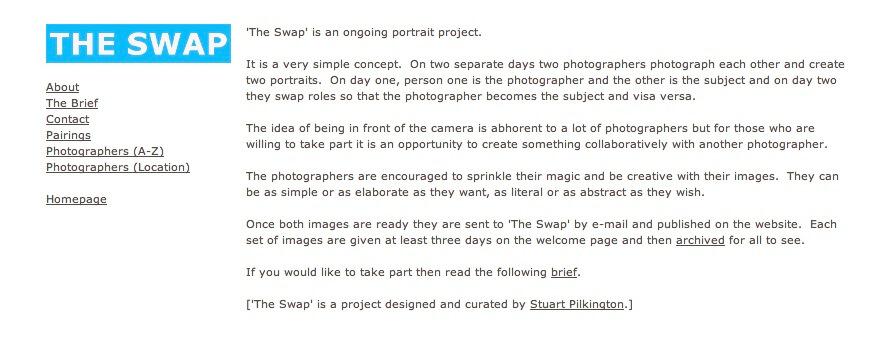 Matthew Swarts + Stuart Pilkington + The Swap