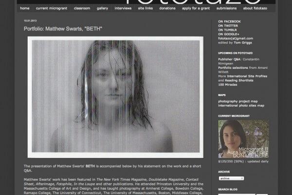 Matthew Swarts + BETH + fototazo